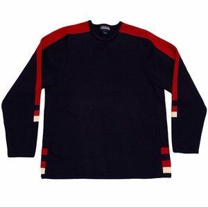Vintage LANDS' END Men's Crew Neck Sweater Size XL